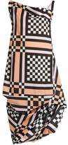 Vivienne Westwood Tube Nomad checked cotton dress