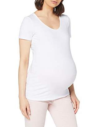 Noppies Women's Tee Ss Round Neck Berlin Maternity T-Shirt,8 (Size: X-Small)