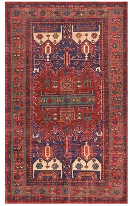Pottery Barn Nicolette Hand-Knotted Wool Rug - Cool Multi