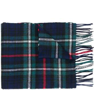 Barbour New Check MacKenzie tartan scarf