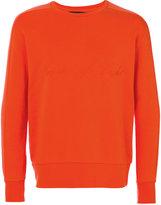 Natural Selection Linear crewneck sweatshirt