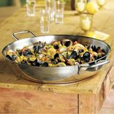 Sur La Table Demeyere Stainless Paella Pan, 14.8 qt.