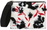 Marni Floral Sequined Clutch