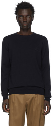 BOSS Navy Pacas-L Sweater