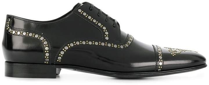 Dolce & Gabbana studded brogues