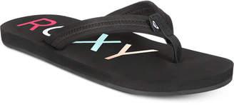 Roxy Vista Flip-Flop Sandals Women Shoes
