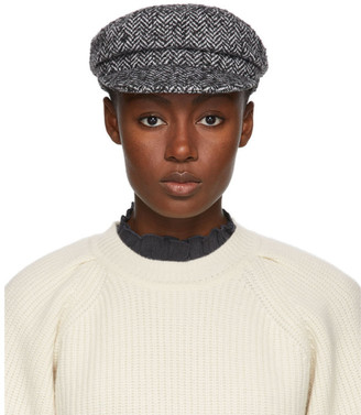 Isabel Marant Black and White Evie Cap