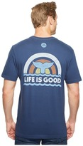 Life is Good Whale Tail Crusher Tee Men's T Shirt