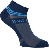 Boss Navy Soft Cotton Sneaker Socks
