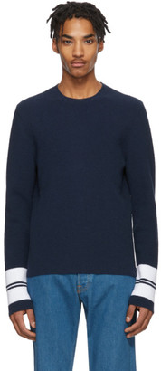 Lanvin Blue Terry Cloth Sweater