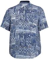 120% Lino 120 LINO Short-sleeved printed linen shirt