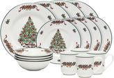 Johnson Bros. Victorian Christmas 16-pc. Stoneware Dinnerware Set