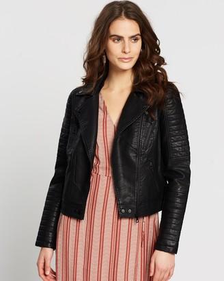 Vero Moda Sandi Faux Leather Jacket