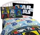 "Star Wars Classic 'Grid 2' Black/White/Blue 20"" x 30"" Pillowcase"