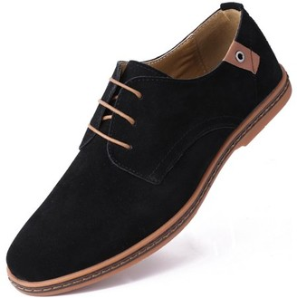 MIO Marino Men's Suede Derby Casual Dress Shoes
