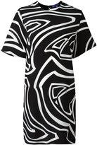 Emilio Pucci printed short sleeve dress - women - Silk - 44