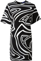 Emilio Pucci printed short sleeve dress