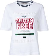 Muveil 'gluten free' print T-shirt - women - Cotton - 38