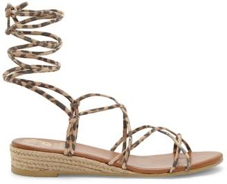 Prasetta Cord-Wrap Wedge Sandal