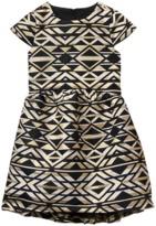 Crazy 8 Brocade Geo Dress