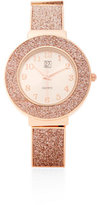 New York & Co. Metallic Glitter Watch