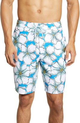 johnnie-O Mangrove Floral Swim Trunks