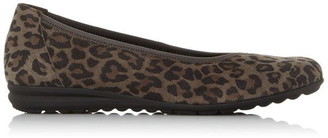 Gabor Splash Low Wedge Loafers