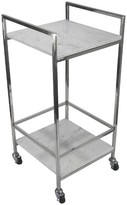 Threshold Marble and Chrome Bar Cart