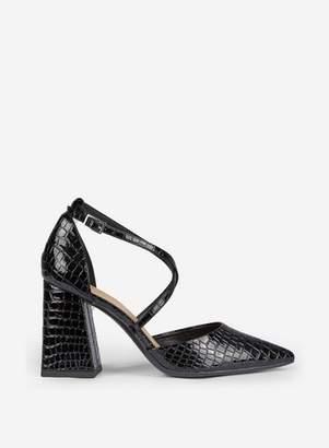 Dorothy Perkins Womens Daria Black Court Shoes, Black
