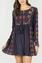 Mur Monoreno Embroidered Bohemian Dress