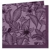 Ted Baker Monkey Botanical Silk Pocket Square