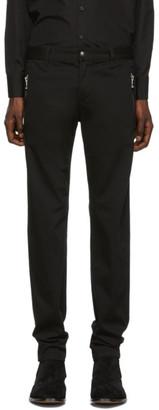 Balmain Black Chino Trousers