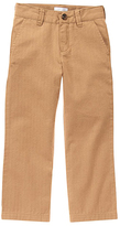 Gymboree Khaki Herringbone Pants - Boys