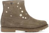 Pom D'Api Trip Star Printed Suede Boots