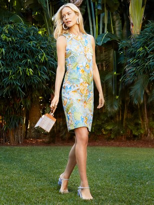 J.Mclaughlin Paulina Dress in Parotta Embroidery