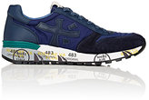 Premiata MEN'S MICK LOW-TOP SNEAKERS-NAVY SIZE 8 M