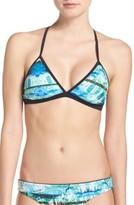 Zella Women's Print Bikini Top
