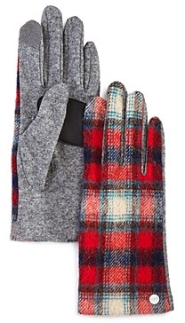 Echo Heritage Plaid Tech Gloves