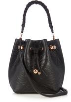 Sophia Webster Romy butterfly-embossed leather bucket bag