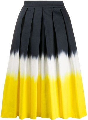 Ultràchic Pleated Midi Skirt