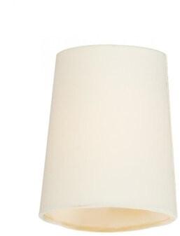 "Breakwater Bay 6"" H Metal Oval Candelabra Shade ( Clip On Color: Cream"