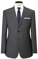 Daniel Hechter Pindot Tailored Suit Jacket, Grey