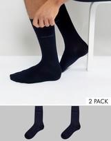 HUGO BOSS BOSS By Socks In 2 Pack