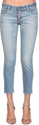 DSQUARED2 Jennifer Cropped Denim Jeans