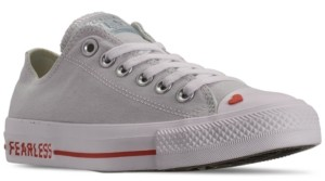 Converse Chuck Taylor Ox Love Fearlessly Casual Sneakers from Finish Line