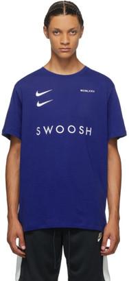 Nike Blue Sportswear Swoosh T-Shirt