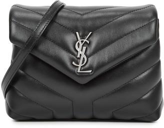 Saint Laurent Loulou Toy Black Leather Cross-body Bag