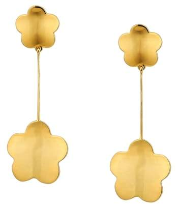 Asha Delphine Floral Drop Earrings