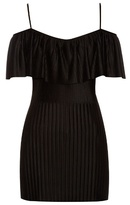 Givenchy Technical-pleated jersey top