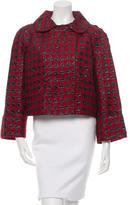Dolce & Gabbana Houndstooth Three-Quarter Sleeve Jacket w/ Tags